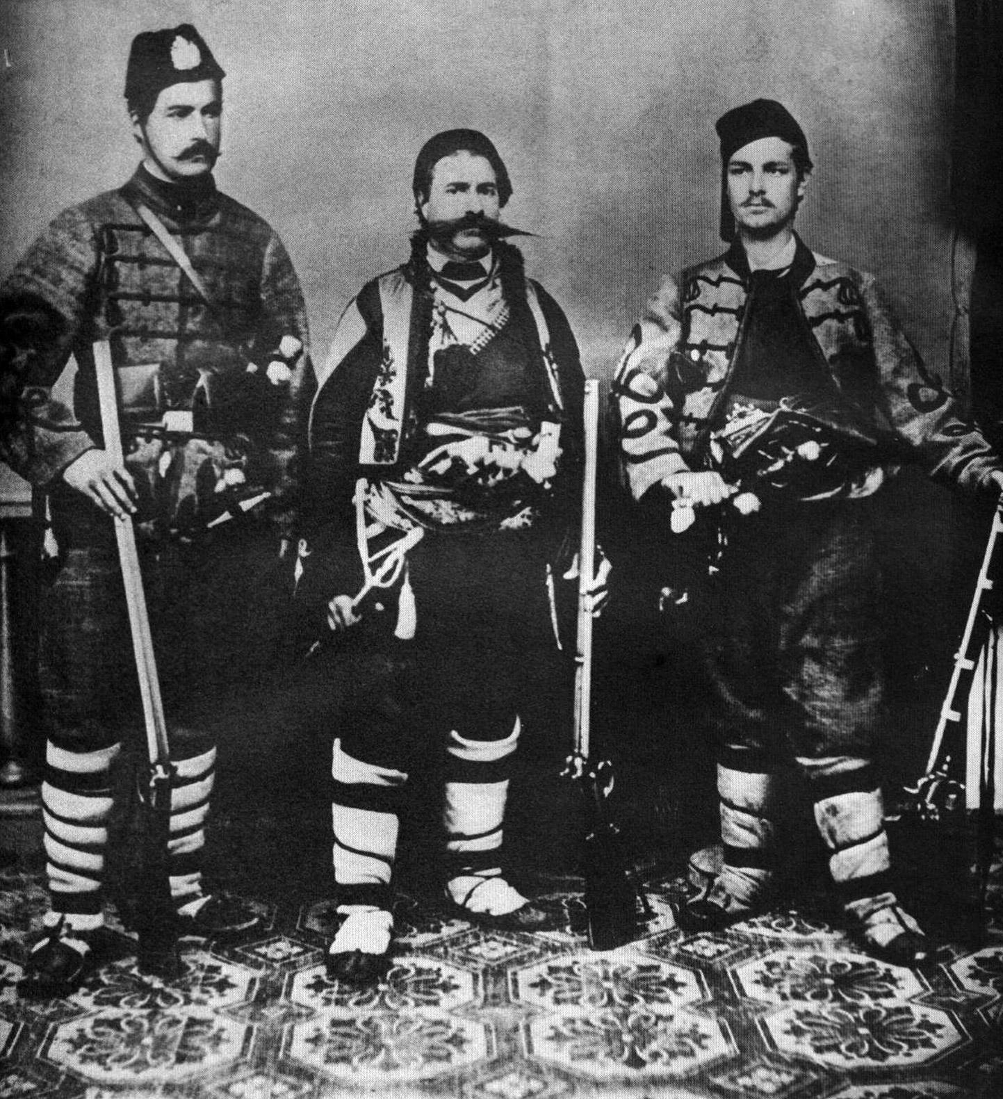 Иван Кършовски, Панайот Хитов и Иван Зерделийски